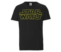 """T-Shirt """"Krieg der Sterne"""" gelb / schwarz"""