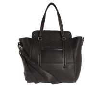 Handtasche 'Luxury Attachment' schwarz