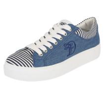 Sneaker 'matrose' blue denim