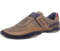 Sneakers marine / braun