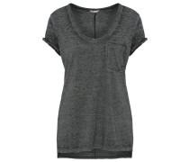 Shirt 'manush' grau / schwarz