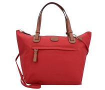X-Bag Handtasche 24 cm rotmeliert