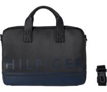 Aktenkoffer -tasche Herrentasche »Signature Stripe Computer Bag« schwarz