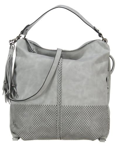 Handtasche 'Anny' grau