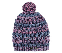 Mütze Strick mischfarben
