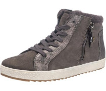 Sneakers taupe / anthrazit