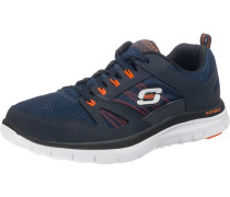 Sneakers 'Flex Advantage' navy / orange / weiß