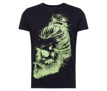 Shirt 'gareth' schwarz / grün