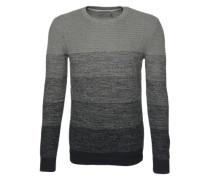 Pullover mit Farbverlauf 'Soreol' anthrazit / hellgrau