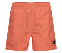 Badeshorts 'home Swim Shorts' orangerot