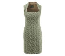 Trachtenkleid mit kurzem Gehschlitz grün