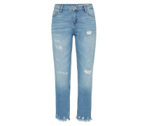 Jeans 'auth' im Cigarette-Fit blue denim