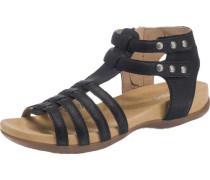 Sandalen für Mädchen schwarz