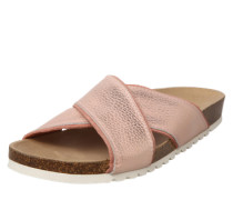 Pantolette 'Isi' nude / rosa