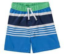 Kinder Badehose blau / grün / weiß