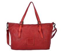 'Tarassaco Shopper' Tasche 35 cm rot