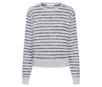 Pullover 'stripe Avryl' grau