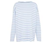 Pullover 'florrie' hellblau / weiß