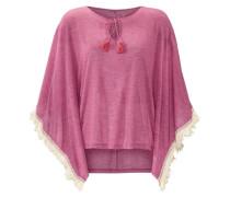 Strandponcho pink / eosin
