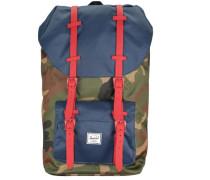 Rucksack mit Laptopfach 'Little America 15 Backpack' mischfarben