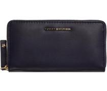 Portemonnaie »Effortless Leather Large ZA Wallet« navy