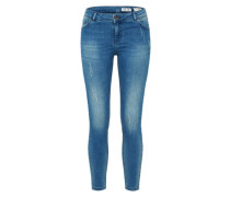 Skinny Jeans 'Undone' blue denim