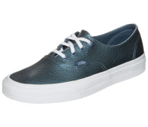 Sneaker 'Authentic Decon Metallic Leather' dunkelblau