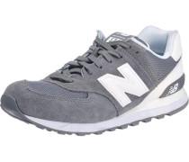 Sneakers 'ml574 D' grau / weiß