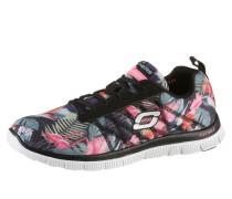 Sneaker mit Memory Foam grau / pink
