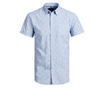 Funky Kurzarmhemd blau