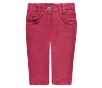 Hose Mädchen Baby Kinder pink / wollweiß