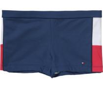 Badehose für Jungen blau / rot / weiß