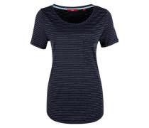 T-Shirt mit Lurexstreifen