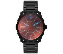 Armbanduhr 'machinus' schwarz