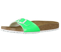 Sandale 'Madrid Lack Neon 439853' grün