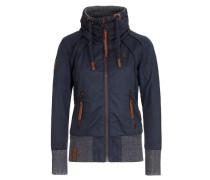 Jacket 'Schlagerstar V' navy / braun
