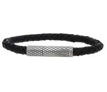 Armband 'Woven Jpbr10659A215' schwarz / silber