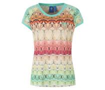 T-Shirt 'Borbofresh' mischfarben