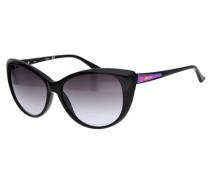 Sonnenbrille Schwarz Gu7358-Blk-35 schwarz