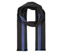 Schal 'selvedge' blau / grau