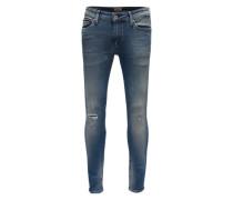 Skinny-Fit-Jeans 'Simon' blue denim