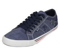 Sneaker aus Canvas blau / marine