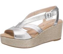 Sandaletten 'Kenya' silber