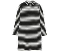 Kleid mit langen Ärmeln nitemille schlankes Rollkragen- weiß