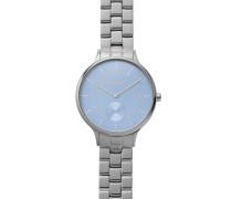 Armbanduhr »Anita Skw2416« rauchblau / silber