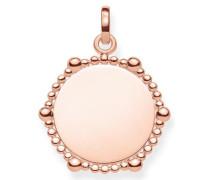 Kettenanhänger 'Coin Dots Lbpe0018-415-40' rosegold