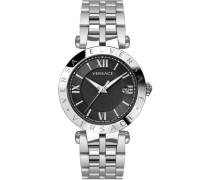 Schweizer Uhr 'V-Race Vcl0100017' schwarz / silber