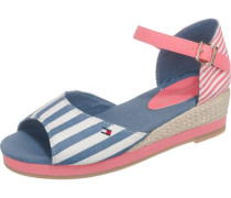 Kinder Sandalen blau / rosa / weiß