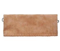 Ronja Loop Vintage Clutch Umhängetasche 30 cm braun