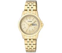 "Armbanduhr ""eq0603-59Pe"" gold"